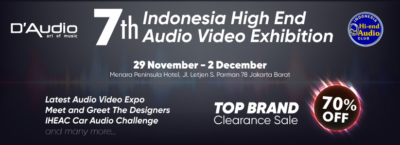 Indonesia High End Audio Video Exhibition 2018